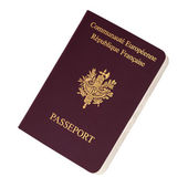 French passport — Stock Photo