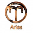 Stock Photo: Aries sign