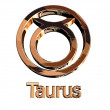 Stock Photo: Taurus sign