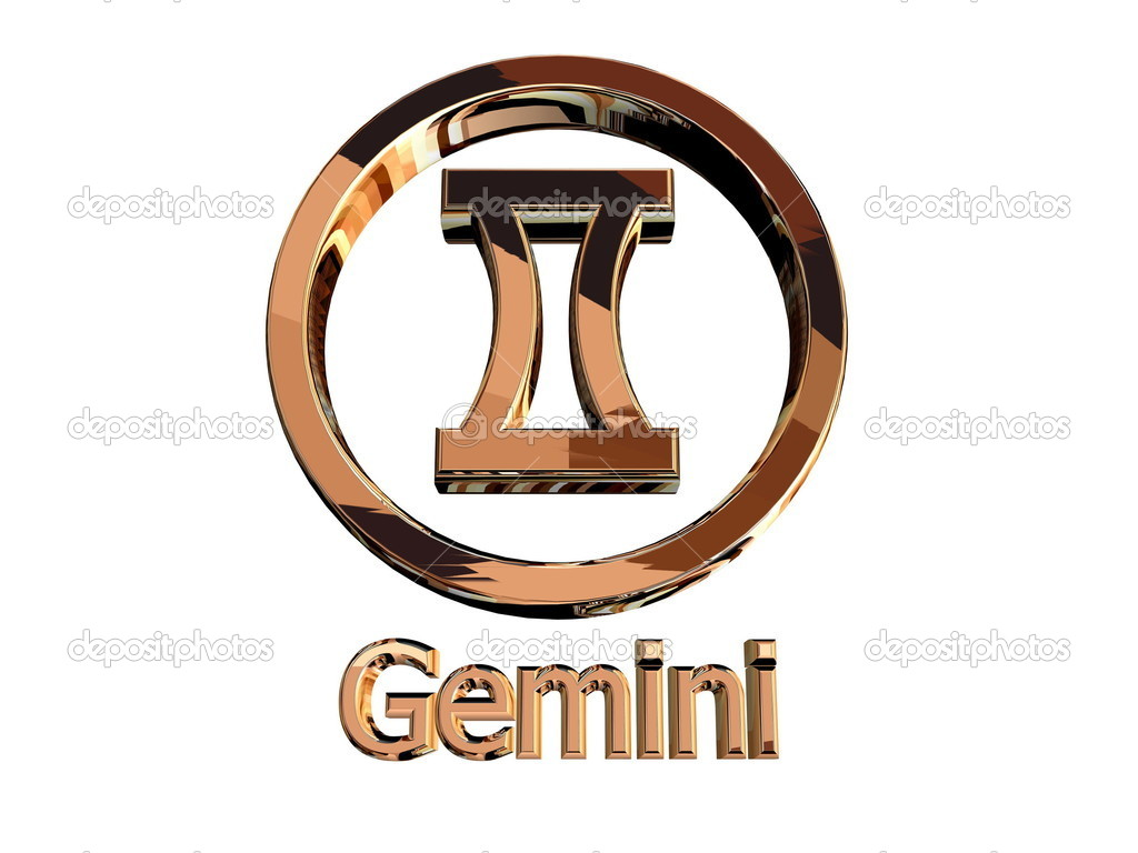 Gemini sign — Stock Photo #9879711
