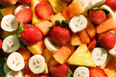 Fresh fruit salad — Stock fotografie