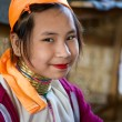 Ethnic minority girl in Myanmar — Stock Photo #9294614