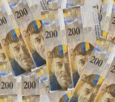 Swiss Francs money — Foto Stock