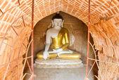 Stupa with statue of Buddha — Stock Photo