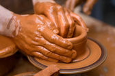 Potter's Hands — Foto Stock