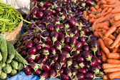 Fresh vegetables market — Foto Stock