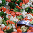 Mixed Vegetable stir fry in pan — Stock Photo