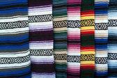 Pantalla colorida alfombra indio — Foto de Stock