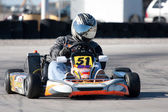 Racing Go Kart — Stock Photo