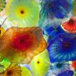 Jelly fish glass flowers — Stock Photo