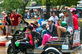 Thai new year (Songkran) celebration in Chiang Mai, Thailand — Stock Photo