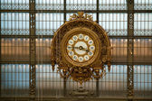 Museum d'Orse big clock — Stock Photo
