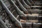 Eski ahşap tekne — Stok fotoğraf