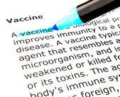 Vacuna — Foto de Stock