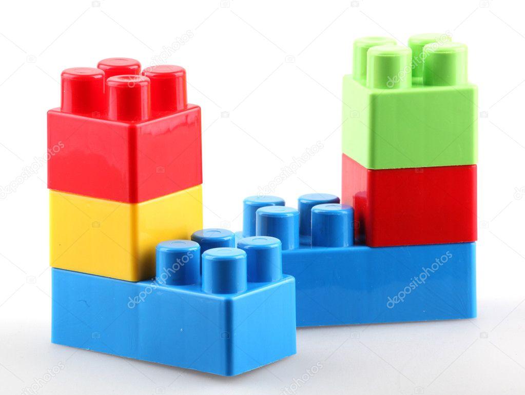 Plastic Building Blocks Stock Photo Nenovbrothers
