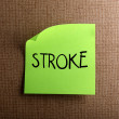 Stock Photo: Stroke