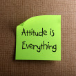 Attitude is Everything — Stock Photo #10639512
