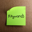 Keywords — Stock Photo #10646449