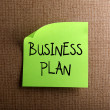 Stock Photo: Business plan