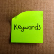 Keywords — Stock Photo #10646599