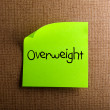 Stock Photo: Overweight