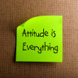 Attitude is Everything — Stock Photo #10646845