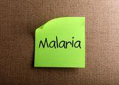 Malaria — Stock Photo