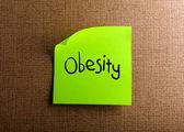 ожирение — Стоковое фото