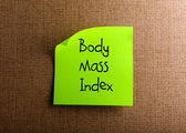 Body Mass Index — 图库照片