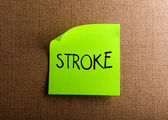 Stroke — Stock Photo
