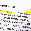 Weight loss — Stock Photo #8044009