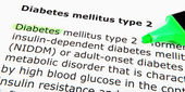 Diabetes mellitus type 2 — Stock fotografie