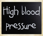 High blood pressure — Stock Photo