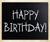Grattis på födelsedagen! — Stockfoto