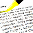 Obesity — Stock Photo #9389441