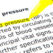Blood pressure -  
