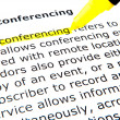 Stock Photo: Web conferencing