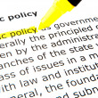 Stock Photo: Policy