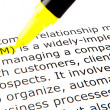 CRM - Customer relationship management - Foto Stock