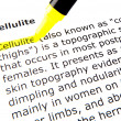 Cellulite — Stock Photo #9416398