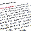 Stock Photo: financial planning