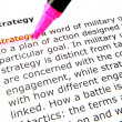 Strategy — Stock Photo #9416455
