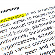 Foto de Stock  : Partnership