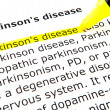 Parkinson's disease — Stock Photo