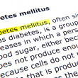 Stock Photo: Diabetes mellitus
