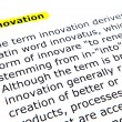 Innovation — Stock Photo #9416563