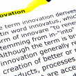 Innovation — Stock Photo #9416565