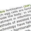 In vitro fertilisation (IVF) — Stockfoto