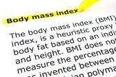 Body mass index (BMI) — Stock Photo