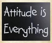 Attitude is Everything — Stock Photo